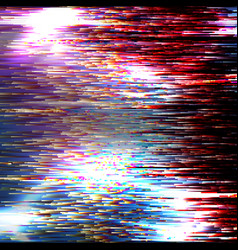 glitch background modern digital image vector image
