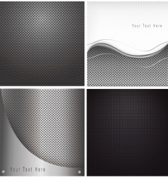 abstract metal backgrounds vector image