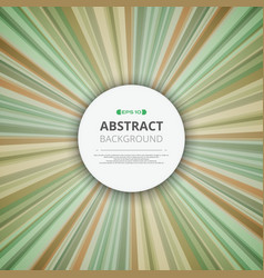 Abstract of stipes lines green colorful pattern vector