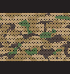 army camouflage pattern military camouflaged vector image