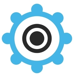 Cog wheel eps icon vector