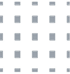 document icon pattern seamless white background vector image