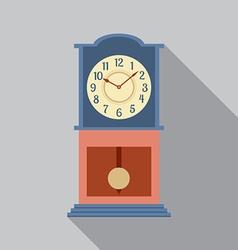 Grandfather Pendulum Clock vector