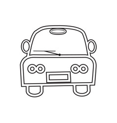 image of a car symbol vector image