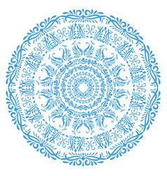 mandala arabesque vector image