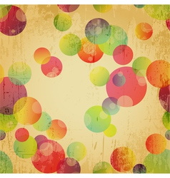 Retro Colorful Seamless Pattern Wallpaper vector