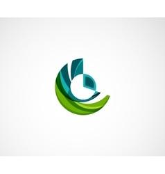 Statistics company logo design vector image vector image