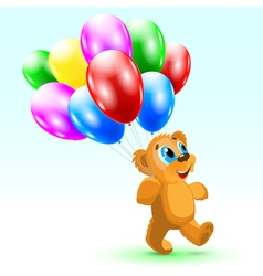 bear Birthday vector image vector image