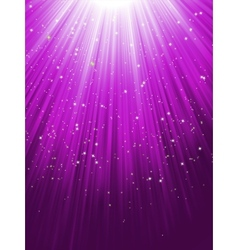 Stars on purple striped background EPS 8 vector image vector image