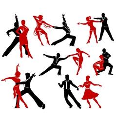 Ballroom dancing - 5 vector image