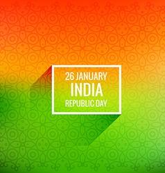26 january republic day vector