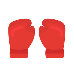 a boxing gloves vector image