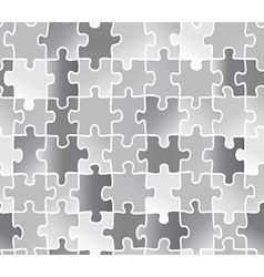 Abstract texture puzzle silver gray color vector