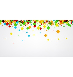 Background with colour rhombs vector image