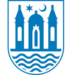 Coat of arms of svendborg in southern denmark vector