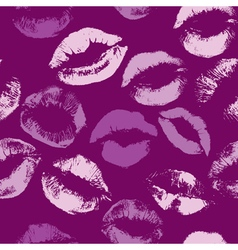 Lips fiolet color seamless 380 vector