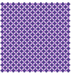 purple arabic geometric seamless pattern image vector image