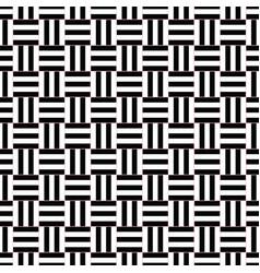 Seamless geometrical square pattern design vector