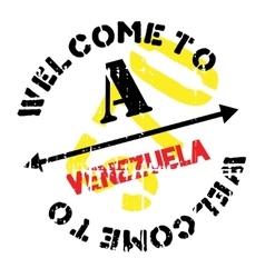 Venezuela stamp rubber grunge vector