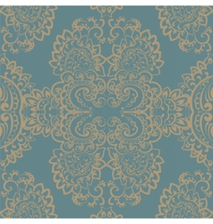 Vintage ornament pattern vector