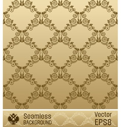 wallpaper ornament vintage vector image vector image