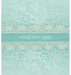 Greeting card invitation template vector image