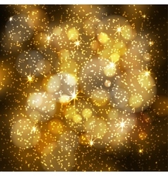 Abstract festive blurred background with sparkling vector