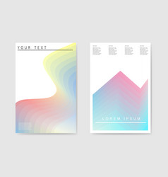 Abstract poster gradient layers background vector