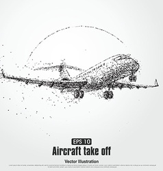 Aircraft take offparticle divergent composition vector