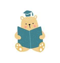 bear education vector image