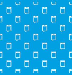 blood transfusion pattern seamless blue vector image