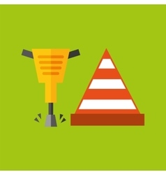 Construction tools design vector
