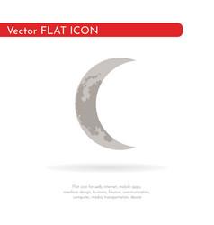 Crescent moon 3 vector