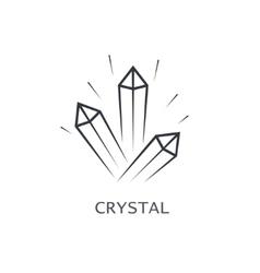 Crystal symbol vector
