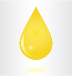 Droop oil vector image