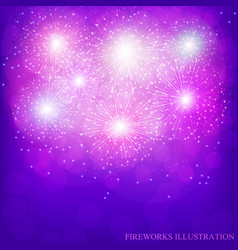 Festive lilac background vector
