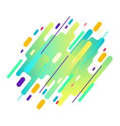 futuristic trendy dynamic elements vector image