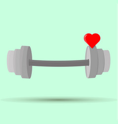 Health and healthy heart icon image fitness vector