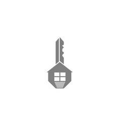 key and home vector image