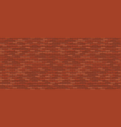 seamless brick wall old red brick wall background vector image