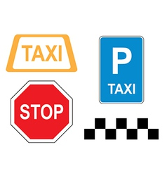 Signs - road information vector