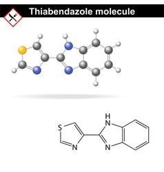 Thiabendazole molecule vector