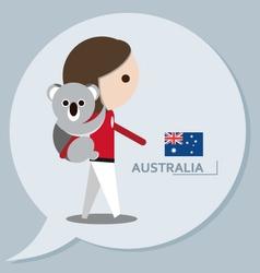 Travel collection Australia vector