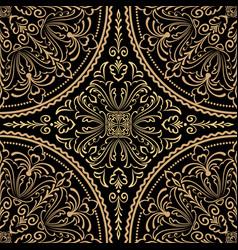 Zentangle styled geometric ornament vector