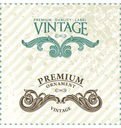 vintage styled premium vector image