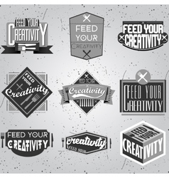 Motivational typography design Retro and vintage vector image vector image