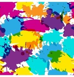 Beautiful bright seamless pattern vector image