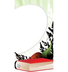 Book and herbarium vector