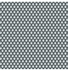 Dragon scale silver vector