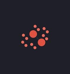 Molecule computer symbol vector